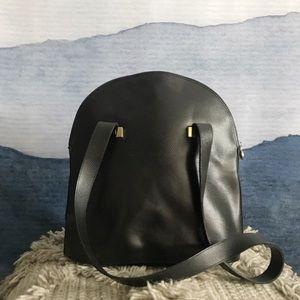 Vintage Focus Paris Leather Satchel Purse Bag